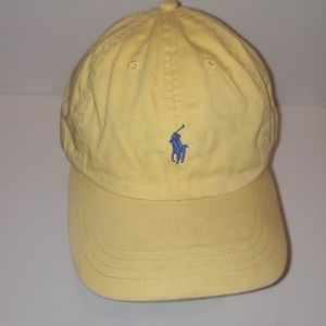 Polo by Ralph Lauren Vintage Yellow Adjustable Hat